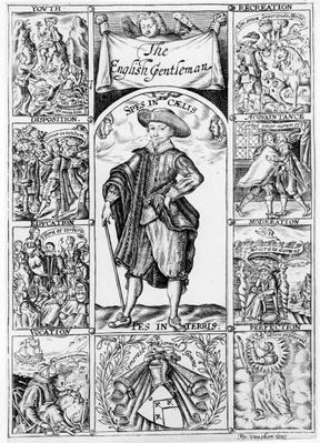 Title-page to 'The English Gentleman' by Richard Brathwaite, 1630
