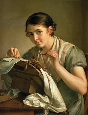 The Lacemaker, 1823