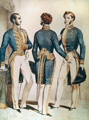 Council of the State, Uniforms of the Vice President, Adviser and the Master of Requests, 1853