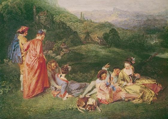 Peaceful Love, c.1718-19