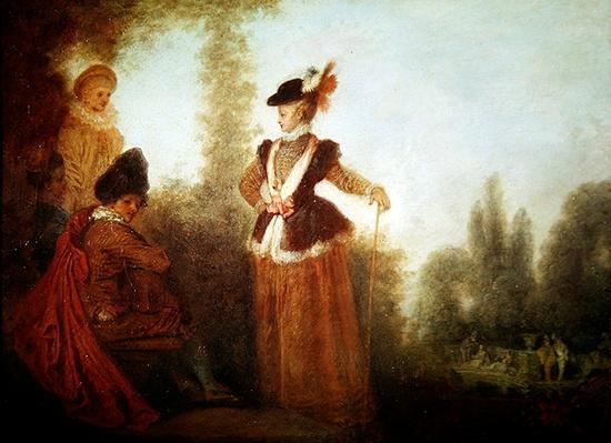 The Adventuress, c.1712