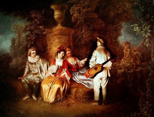 The Foursome, 1712