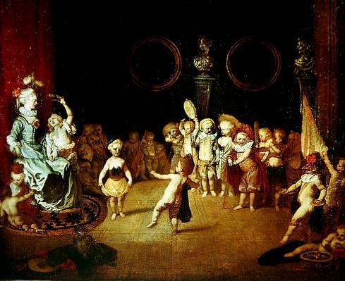 The Little Actors, c.1706-1708