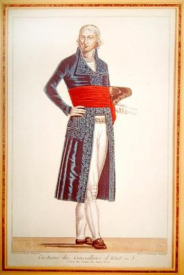 Uniform of the Councillor of State, c.1804-10