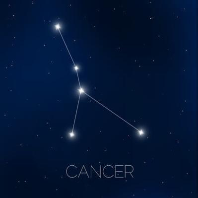 Cancer constellation in night sky | Earth and Space