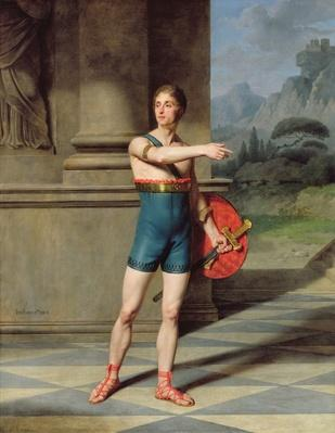 Portrait of Nicolas Baptiste in the role of Horace
