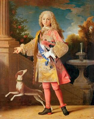 Portrait of Ferdinand of Bourbon, Prince of Asturias, c.1725-35