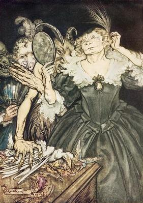 "Comus by John Milton: ""And they, so perfect is their misery"", 1914"