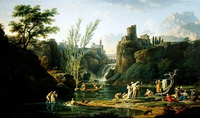 Morning, The Bathers, 1772