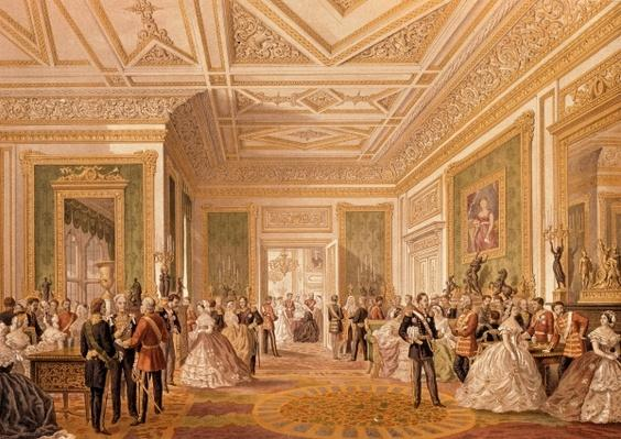 The Signing of the Marriage Attestation Deed, March 10th 1863, published 1864