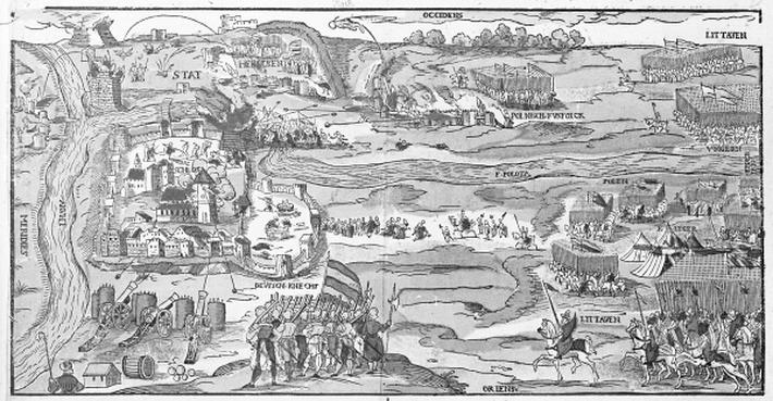 The Siege of Polotsk in 1579