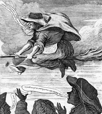 'E. Canning vindicated, or Gypsies Flight to Enfield Wash', 1753