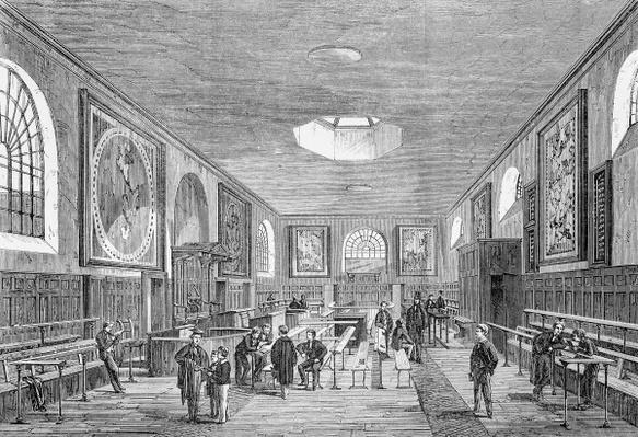 A Charterhouse Schoolroom