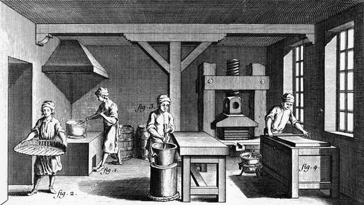 The Confectioner's, illustration from Diderot's 'Encyclopedie', 1763