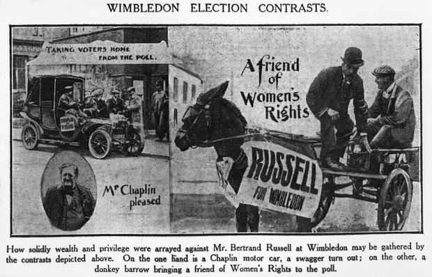 Wimbledon election contrasts, 1907