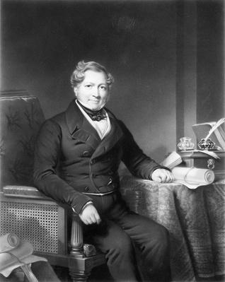 John Heathcoat, engraved by T. L. Atkinson, c.1832-98