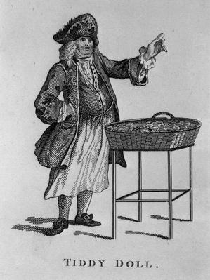 Tiddy Doll, the Gingerbread Seller, from 'Cries of London', published 1813