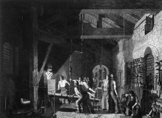 The Forge, 1859