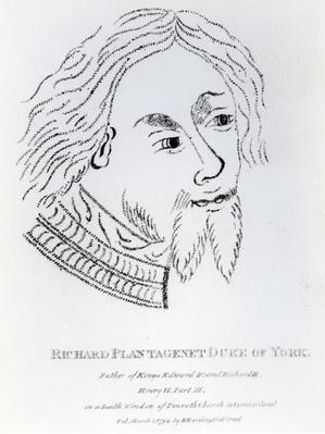 Richard of York, 3rd Duke of York, published in 1792