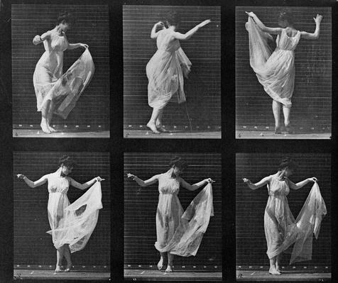 Dancing Woman, plate 187 from 'Animal Locomotion', 1887