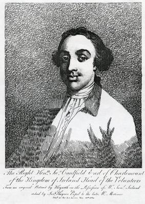 James Caulfield, 1st Earl of Charlemont, engraved by Joseph Haynes, 1782