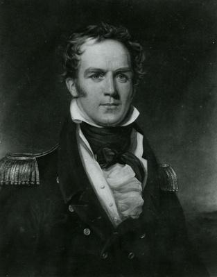 Captain Hugh Clapperton, engraved by Thomas Lupton, 1828