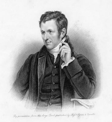Sir Humphrey Davy, engraved by Samuel Freeman
