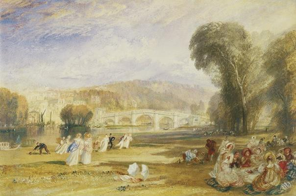 Richmond Hill and Bridge, Surrey, c.1831