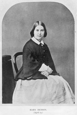 Mary Sidgwick Benson