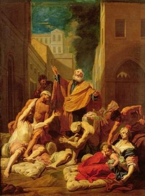 St. Peter healing the sick