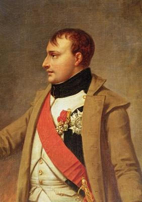 Detail of Napoleon meeting Francis II after the Battle of Austerlitz, c.1812