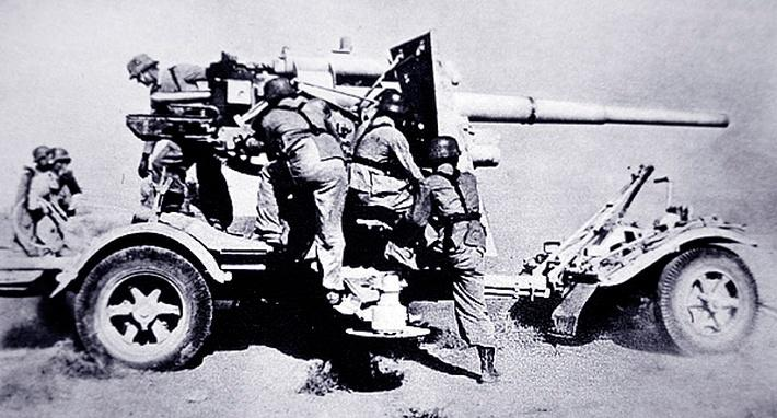 German 88mm anti-aircraft gun