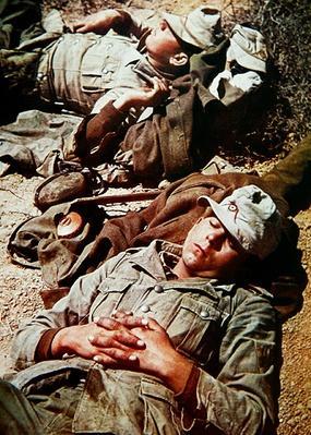 WW2 German Army soldiers of Rommel's Afrika Korps, 1942