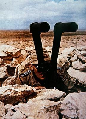 WW2 German Army artillery observer