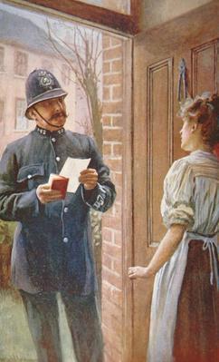 British Policeman, c.1900