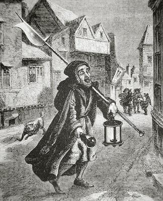 London Watchman of the 17th century