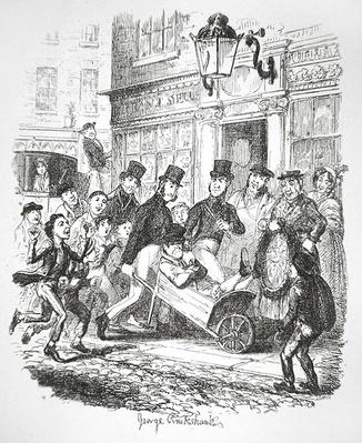A Pickpocket in Custody, c.1835