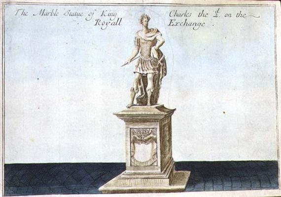 Marble Statue of King Charles II