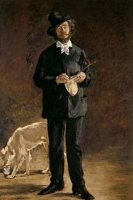 The Artist, or Portrait of Gilbert Marcellin Desboutin, 1875
