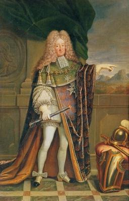 Portrait of Rene de Froulay, Count of Tesse, c.1703