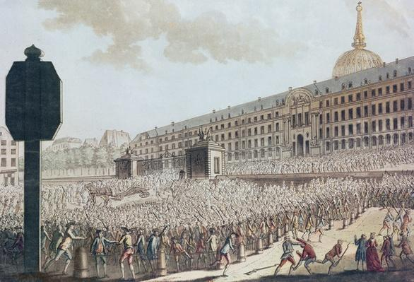 Pillage of the Invalides Armoury, 1789