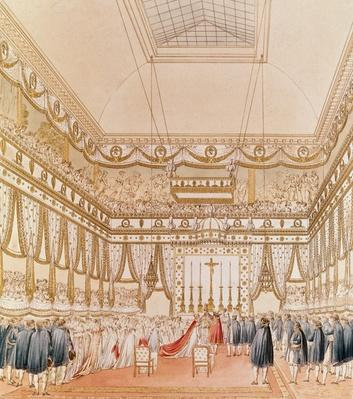 The Marriage of Napoleon and Marie-Louise in the Louvre Chapel