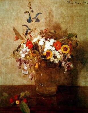 Autumn Flowers, 1864