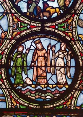 Moses Saved from the Water, 12th-13th century