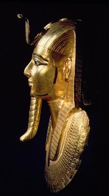 Funerary mask of Psusennes I