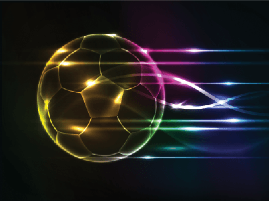 Abstract Football Background | Clipart