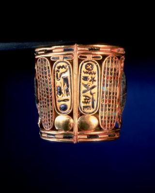 Bracelet with the cartouche of Psusennes I