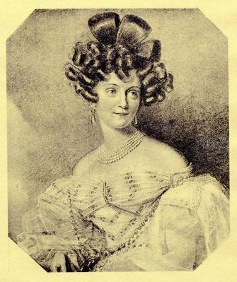 Princess Carolyne zu Sayn-Wittgenstein, c.1840