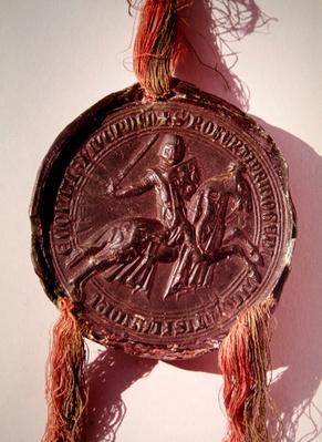 Seal of Robert de Dampierre, Count of Nevers
