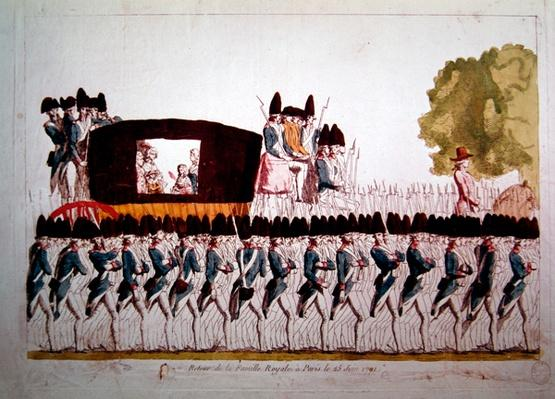 The Return of the Royal Family to Paris, 25 June 1791